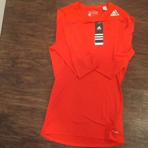 NWT Adidas Techfit Compression Workout Tee Unisex